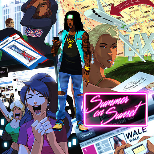 Summer on Sunset von Wale
