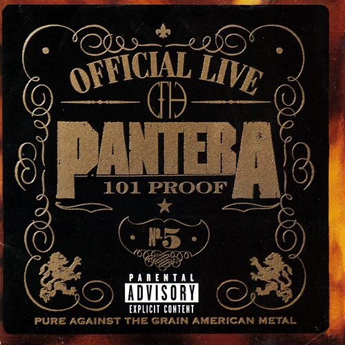 Official Live: 101 Proof de Pantera