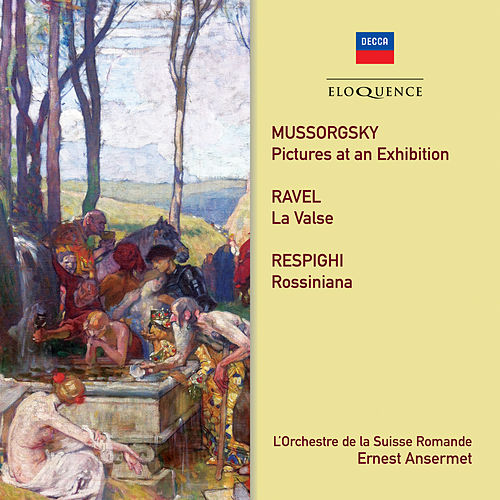 Mussorgsky, Ravel, Respighi: Orchestral Works de L'Orchestre de la Suisse Romande