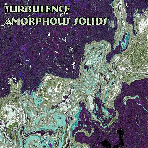 Amorphous Solids by Turbulence