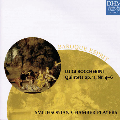 Boccherini: String Quintets op. 11, Nos. 4-6 by Smithsonian Chamber Players