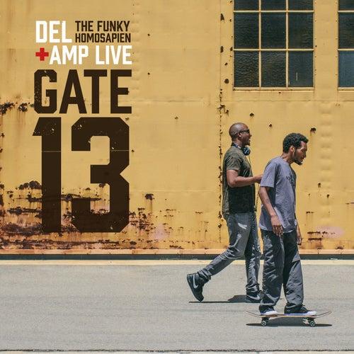 Gate 13 de Del the Funky Homosapien & Amp Live