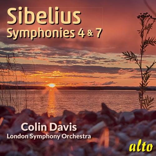 Sibelius: Symphonies Nos. 4 & 7 - Sir Colin Davis, LSO by Sir Colin Davis