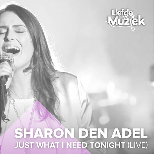 Just What I Need Tonight (Uit Liefde Voor Muziek) (Live) von Sharon den Adel