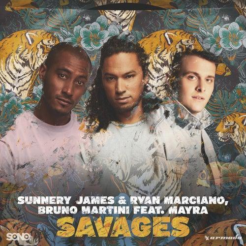 Savages von Ryan Marciano & Bruno Martini Sunnery James