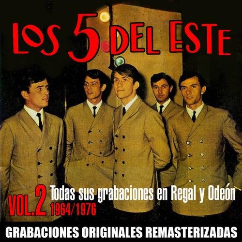 Todas sus grabaciones en Regal y Odeón, Vol. 2 (1964-1976) by Los 5 del Este