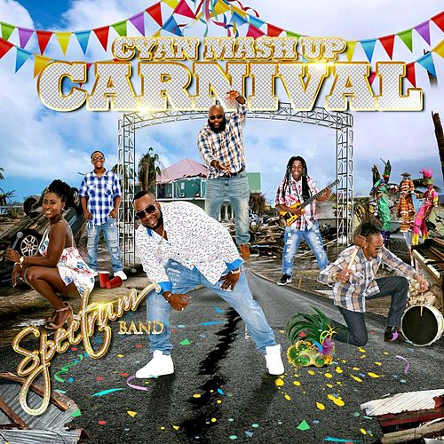 Cyan Mash up Carnival by Spectrum Band