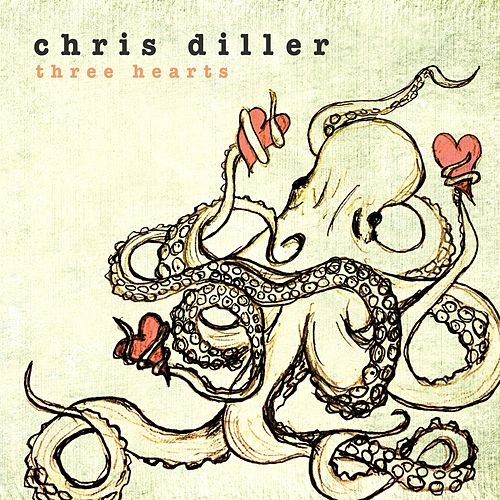 Three Hearts by Chris Diller