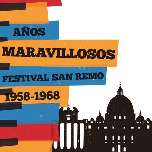 Años maravillosos 1958-1968 Festival De San Remo de Various Artists