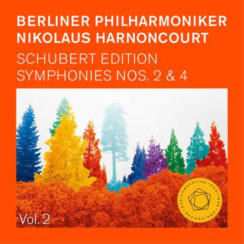 Nikolaus Harnoncourt: Schubert Symphonies Nos. 2 & 4 (Tragic) von Berliner Philharmoniker