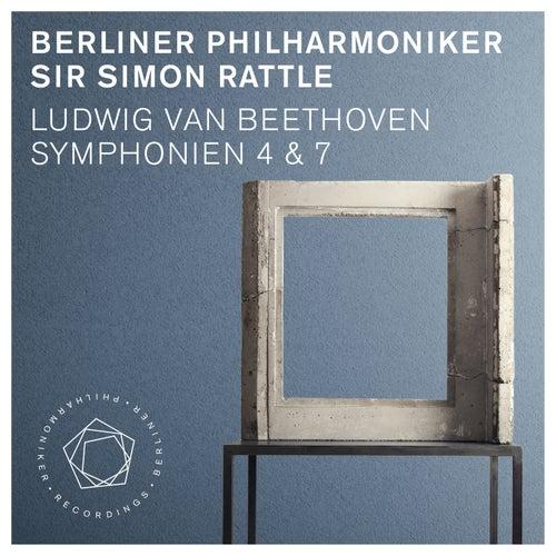 Ludwig van Beethoven: Symphonies Nos. 4 & 7 de Berliner Philharmoniker