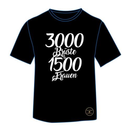 3000 Brüste sind 1500 Frauen von Glitzer Gischi