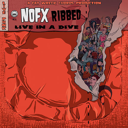 Ribbed - Live in a Dive de NOFX