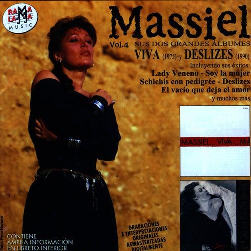 Massiel Vol.4: Sus Dos Grandes Álbumes Viva (1975) y Deslizes (1990) de Massiel