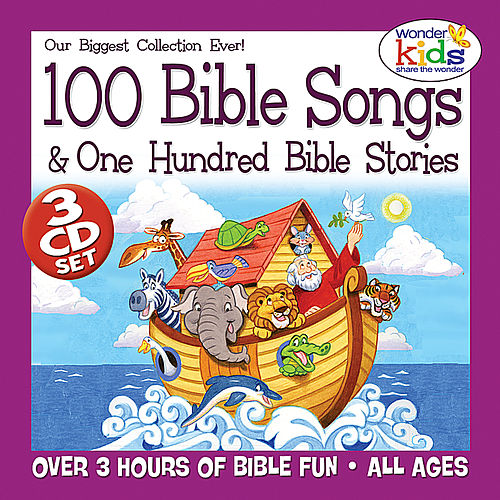 100 Bible Songs & 100 Bible Stories by Wonder Kids