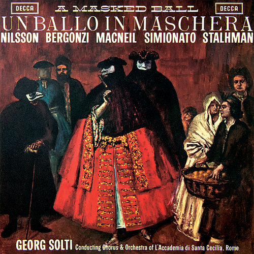 Verdi: Un ballo in maschera by Sir Georg Solti