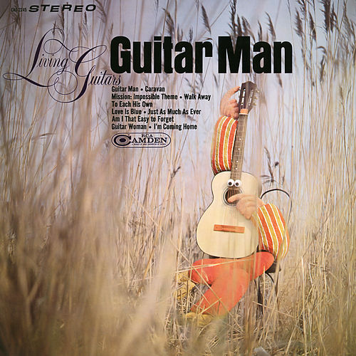 Guitar Man de Living Guitars