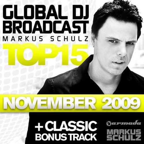 Global DJ Broadcast Top 15 - November 2009 von Various Artists