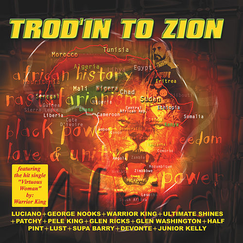 Trod'in To Zion de Various Artists