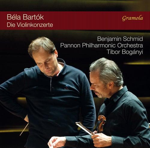 Bartók: Violin Concertos Nos. 1 & 2 von Benjamin Schmid