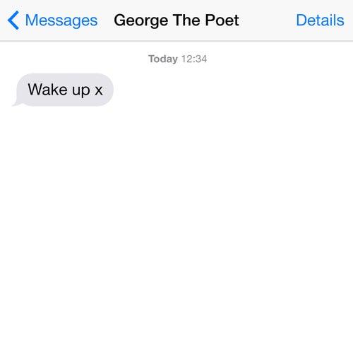 Wake Up von George The Poet