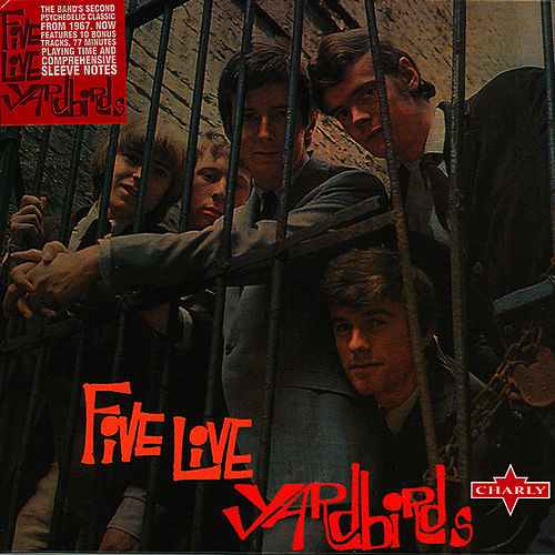Five Live Yardbirds de The Yardbirds