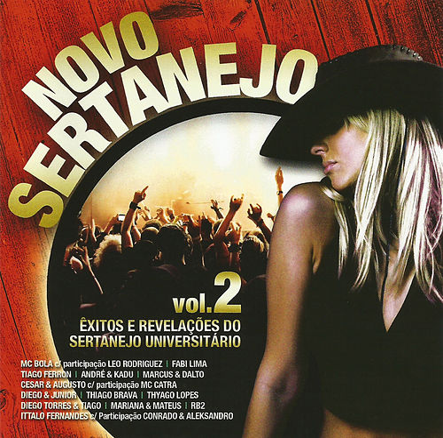 Novo Sertanejo Vol.2 de Various Artists