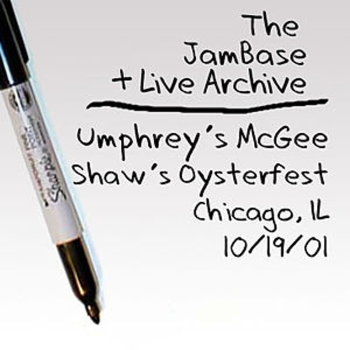 10-19-01 - Shaw's Oysterfest - Chicago, IL by Umphrey's McGee
