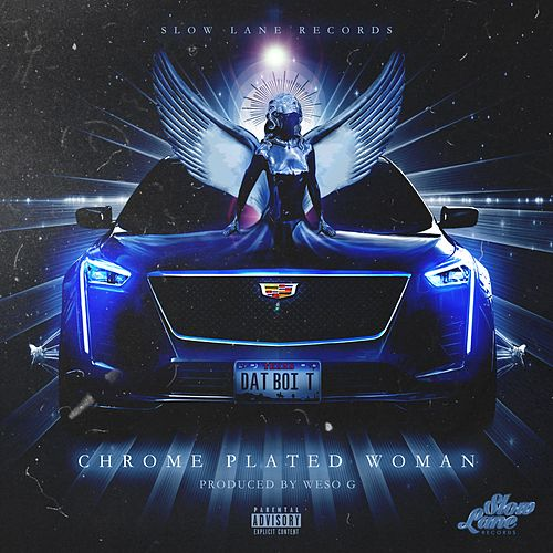 Chrome Plated Woman by Dat Boi T