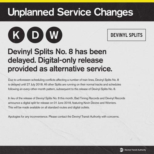 Devinyl Splits: Unplanned Service Changes von Kevin Devine