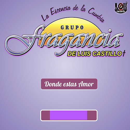 Donde Estas Amor by Grupo Fragancia