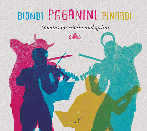 Paganini: Sonatas for Violin & Guitar by Fabio Biondi