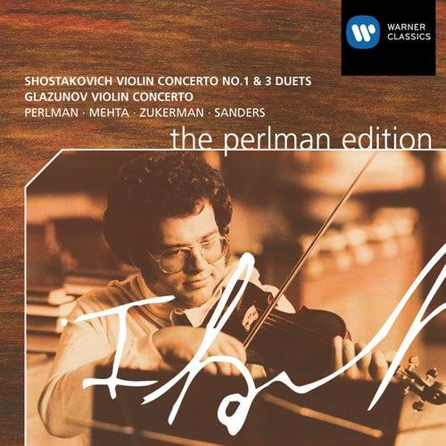 Shostakovich / Glazunov: Violin Concertos de Itzhak Perlman