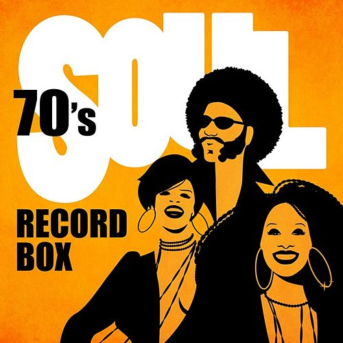 70's Soul Record Box by Various Artists