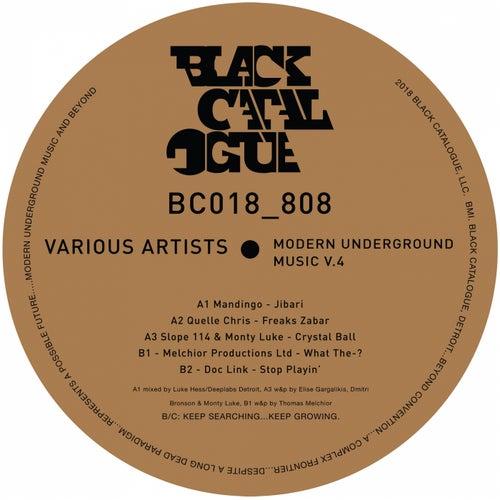 Modern Underground Music, Vol. 4 - Single by Various Artists