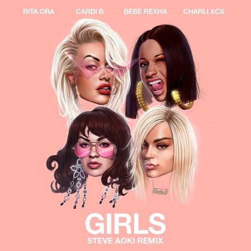 Girls (feat. Cardi B, Bebe Rexha & Charli XCX) (Steve Aoki Remix) de Rita Ora