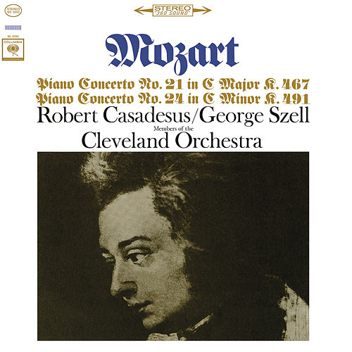 Mozart: Piano Concerto Nos. 21 & 24 (Remastered) by Robert Casadesus