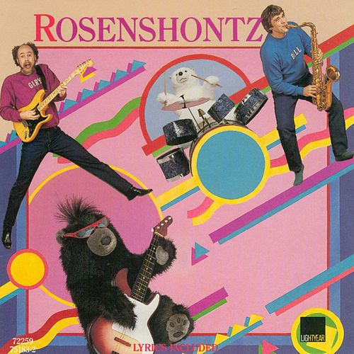 Rock 'N Roll Teddy Bear de Rosenshontz