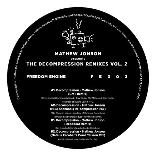 Mathew Jonson Presents The Decompression Remixes FE002 von Mathew Jonson