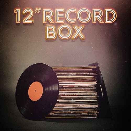 12' Record Box von Various Artists