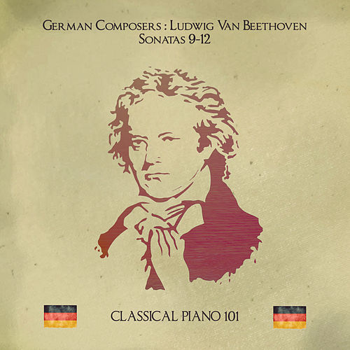 Ludwig Van Beethoven: Sonatas Op 14. No. 1-2, Op. 22 and Op. 26 by Classical Piano 101