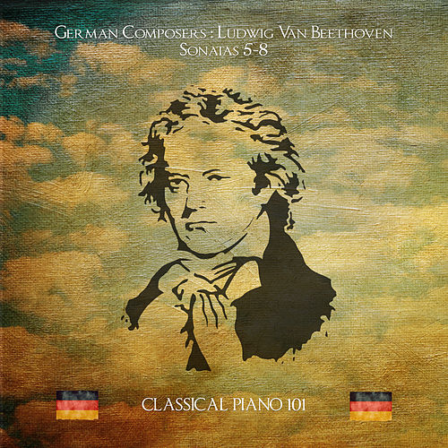 Ludwig Van Beethoven: Sonatas Op. 10 No. 1-3 and Op. 13 de Classical Piano 101