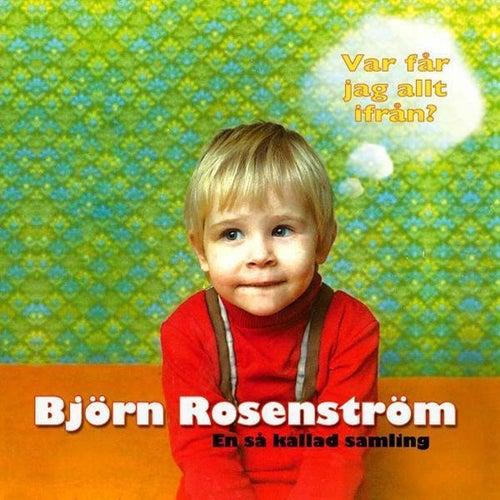 Var får jag allt ifrån - En så kallad samling by Björn Rosenström