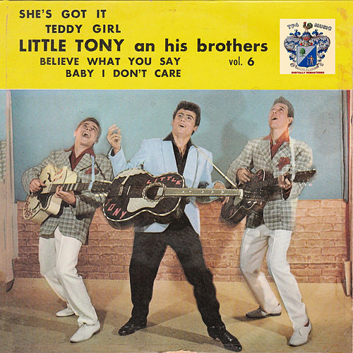 Little Tony and His Brothers Vol. 6 von Little Tony