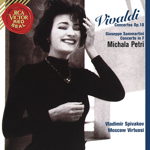 Michala Petri Plays Vivaldi Concertos by Michala Petri