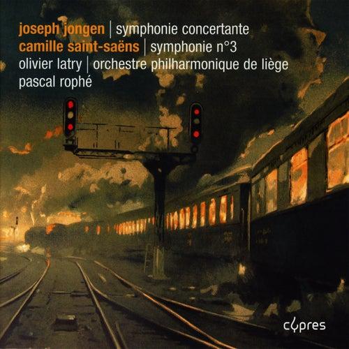 Symphonies avec orgue By Jongen & Saint-Saëns de Olivier Latry