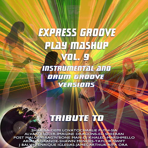 Play Mashup compilation Vol. 9 (Special Instrumental And Drum Groove Versions Tribute To Shawn Mendes-Charlie Puth-Alvaro Soler-Sia etc..) de Express Groove