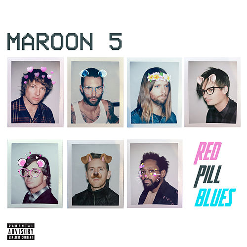 Red Pill Blues (Deluxe) van Maroon 5