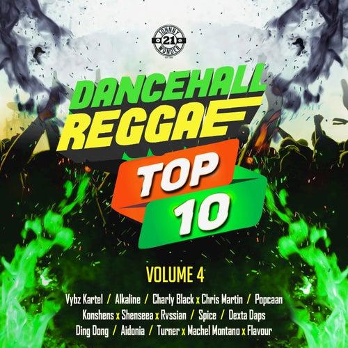Dancehall Reggae Top 10, Vol. 4 by Various Artists