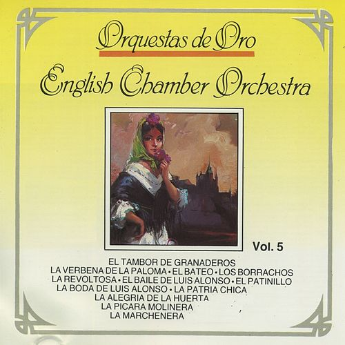 Orquestas de Oro,  Vol. 5 de English Chamber Orchestra